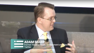 Adam Sharp at the Future of War Conference