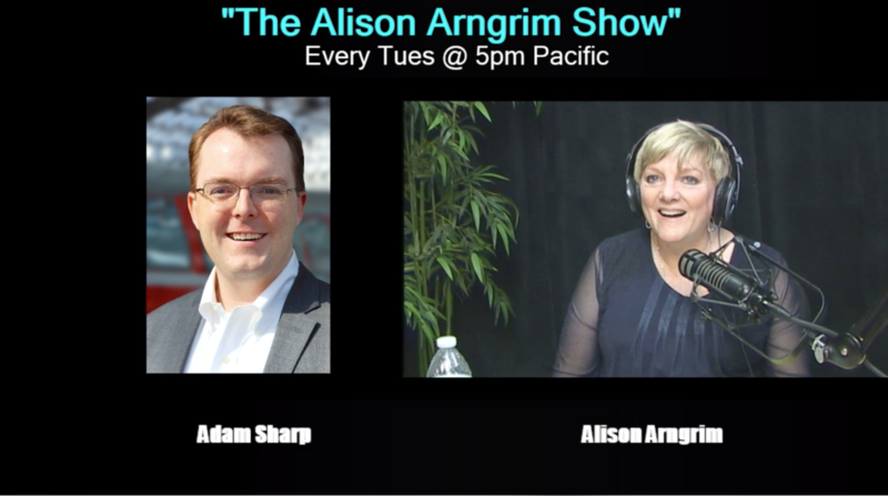 Adam Sharp on the Alison Arngrim Show